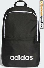 Adidas zaino colore nero scritta bianca Linear Classic Daily accessori art. DT8633