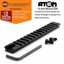 13 Slot 20mm weaver rail / Suits many shotgun, rifle or airsoft applications