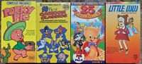 Classic Cartoons Sealed New VHS Lot Of 4 Porky Pig Little Lulu Casper Bugs Bunny