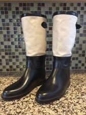 Burberry Women's Rain Boots Limited Size 37 Excellent Condition Rare