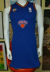 Womens New York Knicks Sewn Basketball Jersey Dress NBA Small Nice