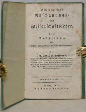 J. Hoffmann-stereometrische anschauungs-y ciencia lección-stereometrie