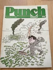 November Punch News & General Interest Humour Magazines