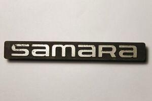 Vintage Russian LADA SAMARA 2108 Rear Emblem 1980's