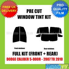DODGE CALIBER 5-DOOR 2007-2010 FULL PRE CUT WINDOW TINT KIT