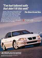 1993 Pontiac Grand Am - Suits - Classic Vintage Advertisement Ad D79