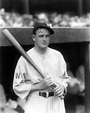 1930s Washington Senators JOE CRONIN Glossy 8x10 Photo Baseball Print Poster