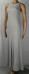 Polo Ralph Lauren Full Length Sleeveless Grey Dress NWT $145