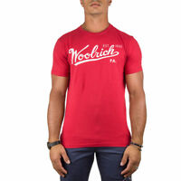 Woolrich T-Shirt Uomo Col Rosso tg XL | -35 % OCCASIONE |