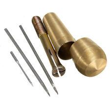 Nähahle für Leder Stoff Markise Segel-Zelt-Reparatur-Werkzeug+ 2 Nadeln Set  NEU