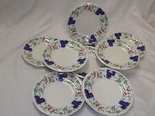 Simpson's Pottery Greenfield Village 8 Bread Dessert Plates