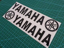 Pair of YAMAHA Motorcycle Decal Vinyl decal Sticker