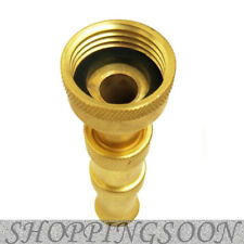 Heavy-Duty Brass Adjustable Hose Nozzle Replaces Dramm 12380