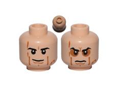 NEW Lego - Mini Figure Head - Star Wars - Anakin Sith determined angry Set 9526