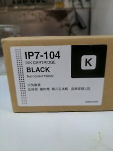 IP7 Compatible BLACK Ink 1500ml for OKI SEIKO ColorPainter H-104 H-74 H2-104 74