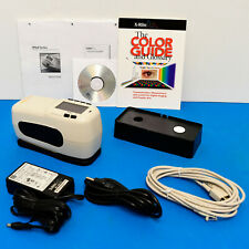 X-Rite SP64 Portable Sphere Spectrophotometer Lab values 4 print fabric physical
