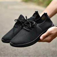 Men's Athletic Casual Shoes Outdoor Running Sport Breathable Mesh Sneakers