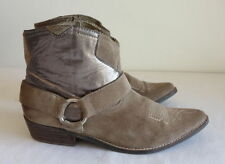 Solid Pull On Cowboy, Western Shoes for Women