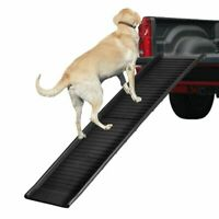 Folding Pet Paw Safe Dog Ramp Ladder Incline 150 lbs Large for Cars Trucks SUVs