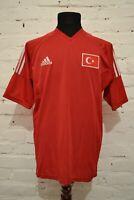 VINTAGE TURKEY 2002/2004 HOME FOOTBALL SHIRT SOCCER JERSEY TRIKOT ADIDAS MENS M