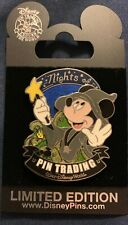 70168 Disney Nights of Pin Trading Magician Mickey Mouse Wizard Pin LE 500