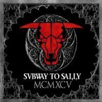 """SUBWAY TO SALLY """"MCMXCV/FOPPT DEN DÄMON"""" 2 CD NEU"""