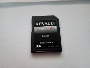 sd card gps renault TOMTOM Rlink france 4845R