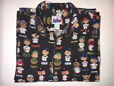 Reyn Spooner Classic MLB Baseball Aloha Camp Shirt Rare Red Sox Yankees Cubs XL