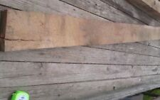 "Red Oak Mantel Bench Lumber Slab Solid Wood Log 130 1/2"" long"