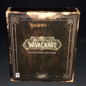 Blizzard Entertainment 2004 World Of Warcraft Collectors Edition Used Vanilla???