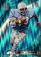 2015 Panini Spectra Neon Blue #42A Earl Campbell HOUS #/49 BX 215A