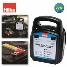 Hilka 12 Amp Automático Cargador De Batería 12V coche Van y Bicicleta de carga eléctrica