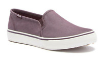 Keds Women's Burgundy Double Decker Shimmer Chambray Shoes