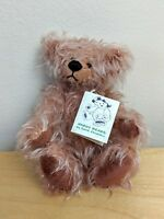 Hardy Bears  Roxy  By June Kendall Pink Mohair  One of a Kind  Collector's Item