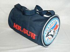 Toronto Blue Jays Duffel Gym Bag MLB Mr. Sub Promotional small Tote Blue VTG