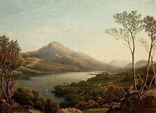RUMÄNIEN - Balea See - Farblithografie - um 1827