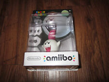 Boo Amiibo Nintendo Wii U 3DS Glows in Dark! FREE SHIPPING! Super Mario SEALED!