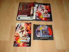 CAPCOM VS. SNK 2 MARK OF THE MILLENNIUM 2001 PARA LA SONY PS2 USADO COMPLETO