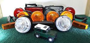 Land Rover Defender 1986-1994 200TDi OEM Wipac Complete Lights Set Fog & Reverse