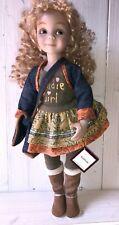 Dianna Effner Vinyl Jointed Doll - ashton drake - rare doll