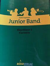 Norbert Engelmann - Junior Band - Bläserklasse 2 - für Klarinette