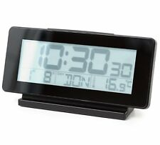 Balvi iTIME Large Display LCD ALARM CLOCK Snooze Temperature Date Backlight