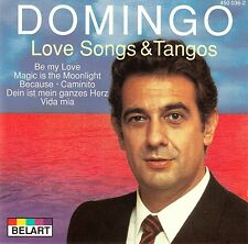 PLACIDO DOMINGO : LOVE SONGS & TANGOS / CD (BELART 450 036-2)
