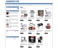 BARBECUE SUPPLIES ECOMMERCE WEBSITE WITH ONE YEARS HOSTING + NEW DOMAIN