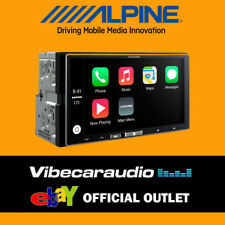 "Alpine iLX-700 7"" Touch Screen Digital Media Receiver with Apple CarPlay"