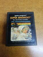 Super Breakout (Atari 2600, 1978)(Tested)