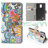 Custodia booklet PARTY per Samsung Galaxy Note 4 N910F flip cover case STAND