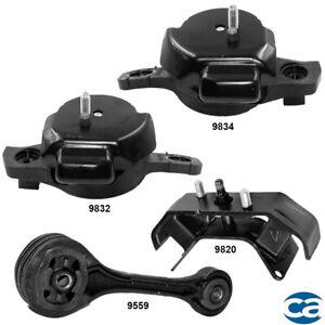 2pcSet Motor Mounts fit Subaru Impreza Forester 2009-2014 NoTurbo Engine Mount