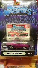 Muscle Machines '69 Camaro violette (9960)