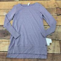 Ideology Womens Sweatshirt Tunic Size XS New NWOT M216